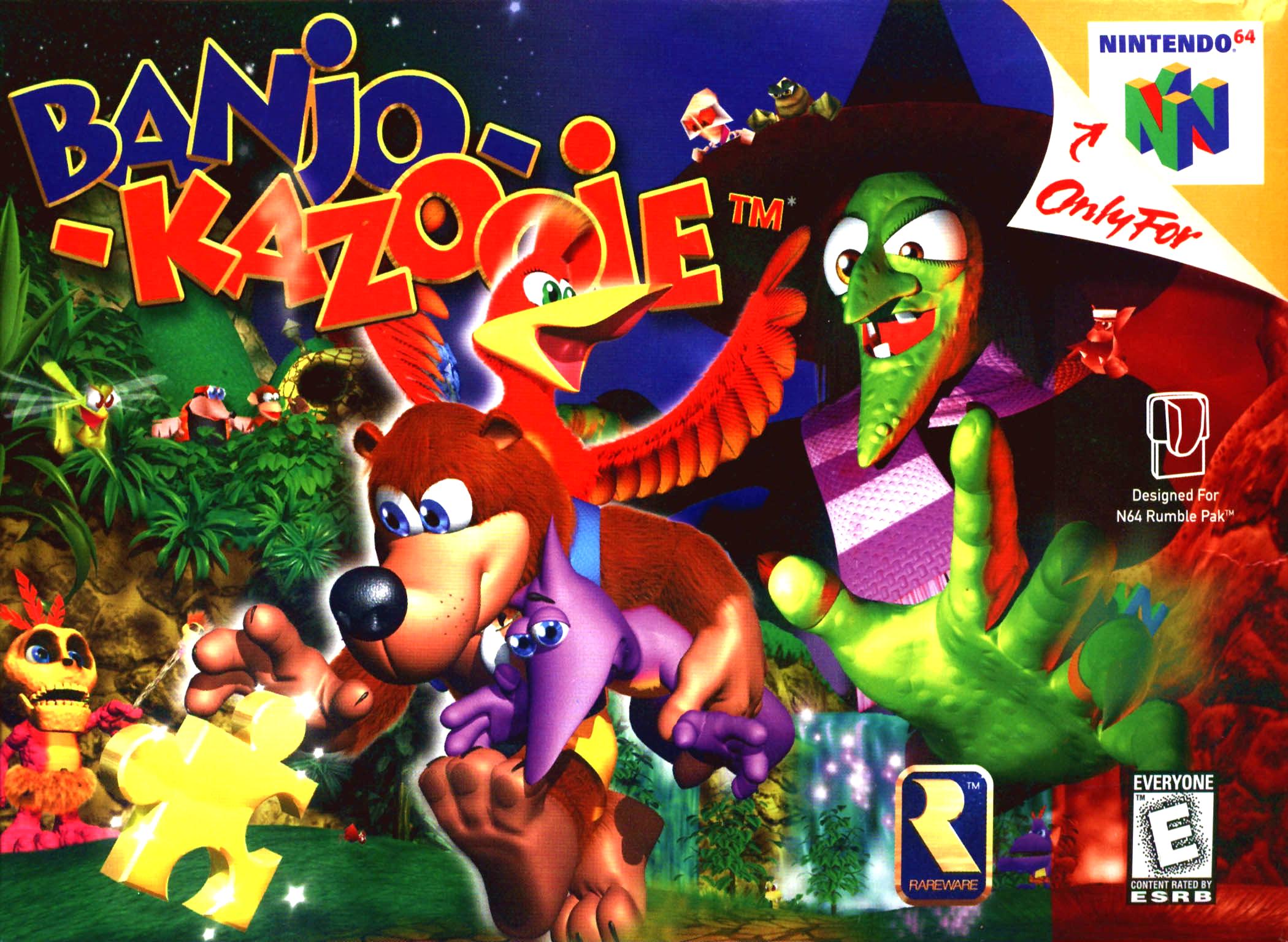 This is #BanjoKazooie for the #Nintendo64! #Nintendo