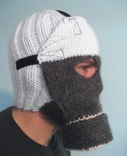 Knitted gasmask