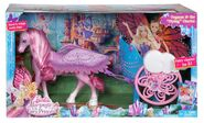 Barbie Mariposa & the Fairy Princess Carriage Playset Boxed