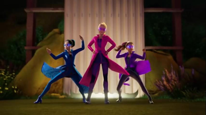 Image Barbie Spy Squad Trailer