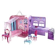 Barbie The Princess and The Popstar Bedroom Playset