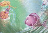 Barbie in A Mermaid Tale Book Scan 1