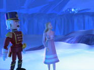 Barbie in the Nutcracker Ice Cave 5 Eric Clara Young Snow Faerie