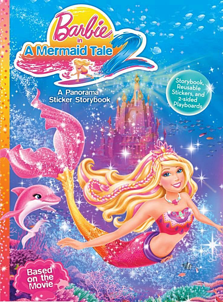 Barbie Mermaid Tale 2 Coloring Pages