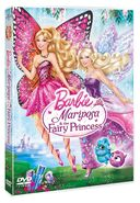 Barbie Mariposa and the Fairy Princess DVD Cover 3D
