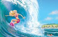 Book Illustration of Mermaid Tale 1
