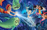 Book Illustration of Mermaid Tale 2 10