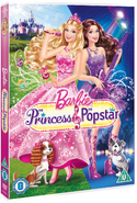 Barbie The Princess and & Popstar DVD