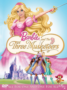 Barbie Three Musketeers DVD Cover