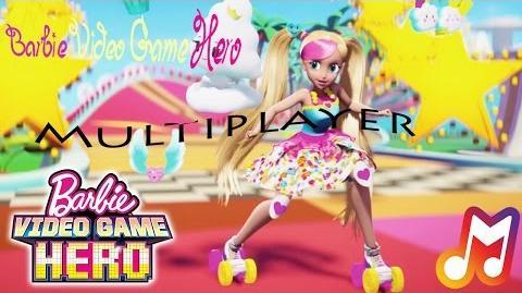 Barbie Video Game Hero - Multiplayer Lyrics