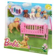 Great Puppy Adventure Cradle Playset