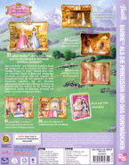 Barbie as the Princess and the Pauper Video Game German PC Cover Back Side