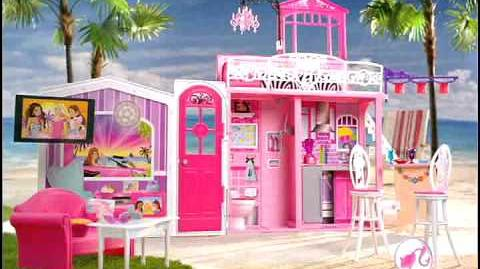 2010 Barbie Glam Vacation House Commercial