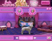 Barbie Groom and Glam Pups Browser Game Samoyed
