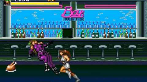 Streets of Rage 3 Blaze vs Mona & Lisa (Hard)