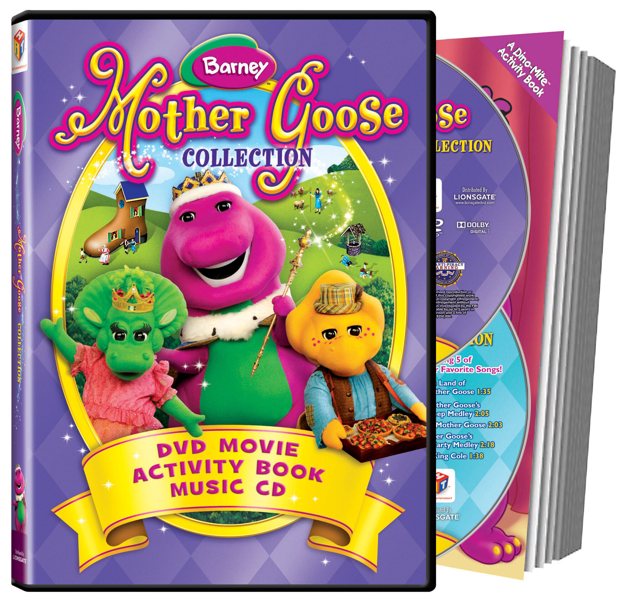 image barney mother goose collection dvd jpg barney wiki