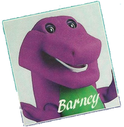 Barney photo from early Barney videos
