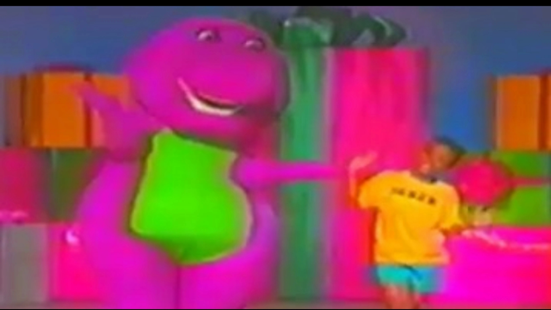 Image Barney And Derekjpg Barney Wiki FANDOM Powered By Wikia - Concert barney wiki