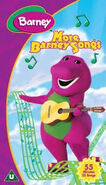 More Barney Songs 2002 UK VHS
