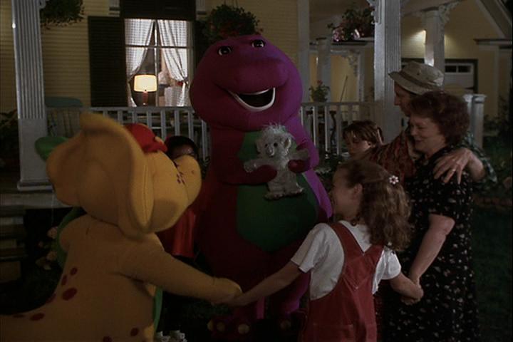 dildo Barney buys a