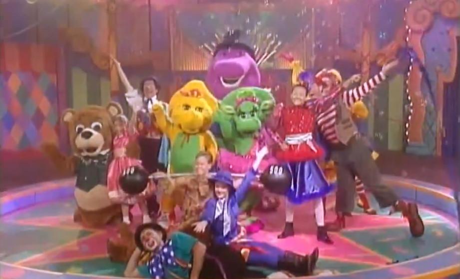 Barney Night Before Christmas