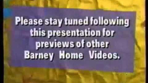 Please Stayed Tuned For Barney Home Videos Version 2