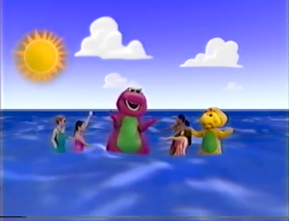 he waded in the water barney wiki fandom powered by wikia