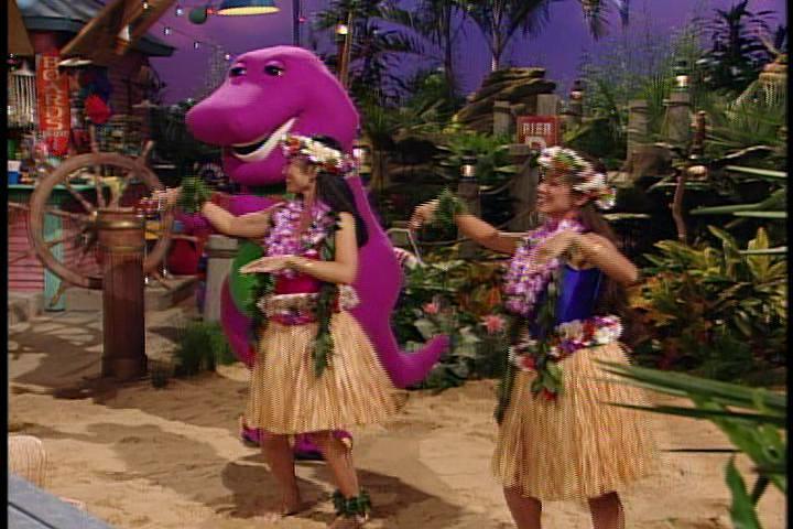 Barney S Hula Dance Barney Wiki Fandom Powered By Wikia