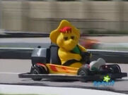 Riding in a Race Car