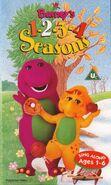 Barney's 1-2-3-4 Seasons 1996 UK VHS