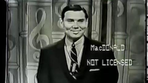 DOUGH RE MI NBC game show opening 1958-60