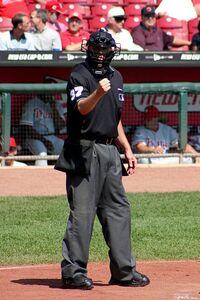 Baseball umpire 2004