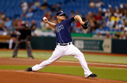 Alex Cobb Kansas City Royals v Tampa Bay Rays Dl95qdKbv6bl