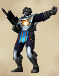 Dark Serviceman (Origins)