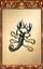 Scorpion Barrette