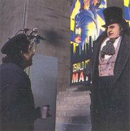 Batman Returns - Burton and DeVito 3