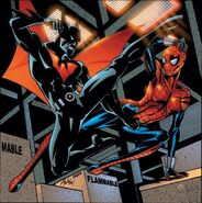 1177126-603885 batman beyond vs spider girl