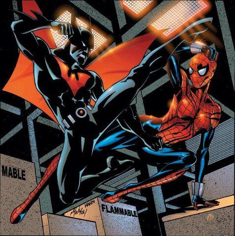 File:1177126-603885 batman beyond vs spider girl.jpeg