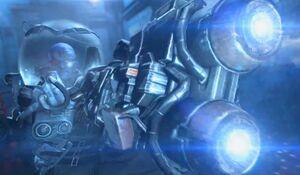 Arkham Origins Freeze Ray