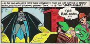 Batman First Appears to Criminals