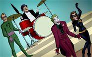 Joker, Penguin, Riddler and Catwoman (BROTCC)