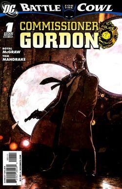 Battle for the Cowl Commissioner Gordon -1