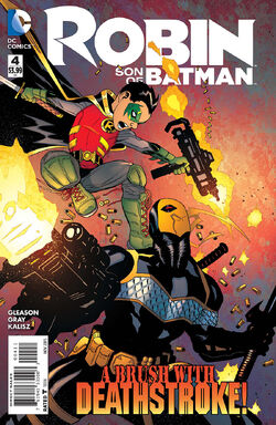 Robin Son of Batman Vol 1-4 Cover-1