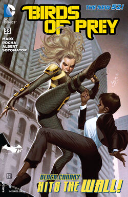 Birds of Prey Vol 3-33 Cover-1