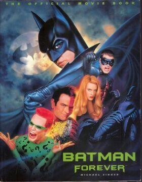 Batman forever (novel cover)