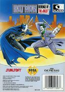 Batman - Revenge of the Joker Genesis back cover