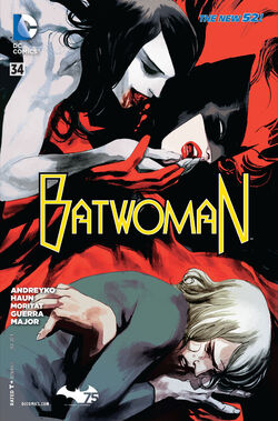 Batwoman Vol 1-34 Cover-1