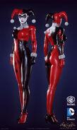 Harley Quinn classic Batman Arkham Knight character promo