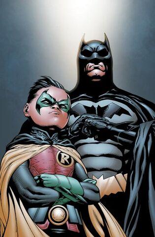 File:Batman Dick Grayson and Robin Damian Wayne-3.jpg