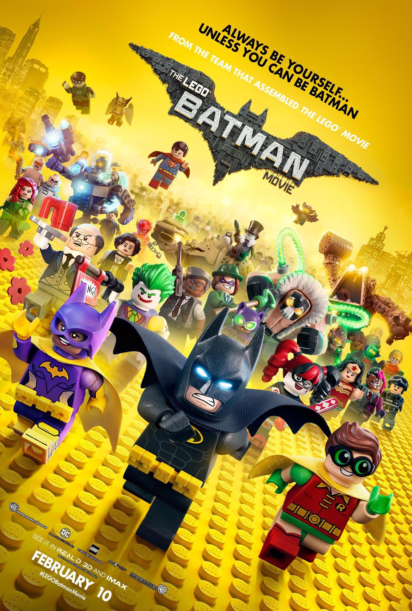 Lego Batman Movie Final Poster